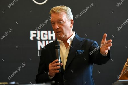 Editorial picture of Frampton Fight Week Press Conference, Boxing, The Council Chamber, Town Hall & Apartments, Bethnal Green, London, UK - 10 Aug 2020