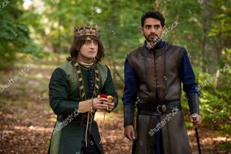 Stock Image of Daniel Radcliffe as Prince Chauncley and Karan Soni as Lord Vexler