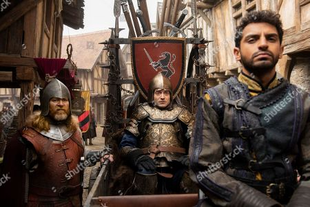 Daniel Radcliffe as Prince Chauncley and Karan Soni as Lord Vexler