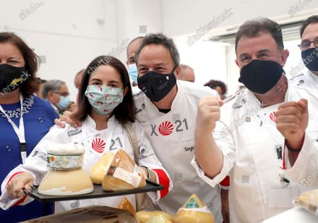 Editorial image of Gastronomy charity event promotes Way of St. James, Santiago De Compostela, Spain - 10 Aug 2020