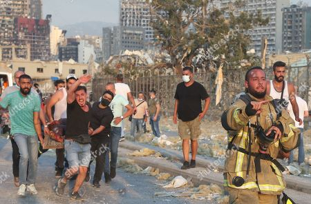 Aftermath following Beirut's huge explosions which has killed at least 137 people and injured nearly 5,000.