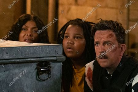Taraji P. Henson as Vanessa Manning, Terrence Little Gardenhigh as Kareem and Ed Helms as Coffee