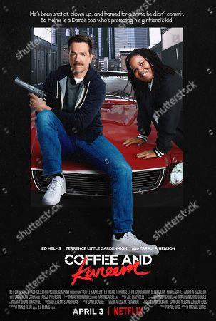 Coffee & Kareem (2020) Poster Art. Ed Helms as Coffee and Terrence Little Gardenhigh as Kareem