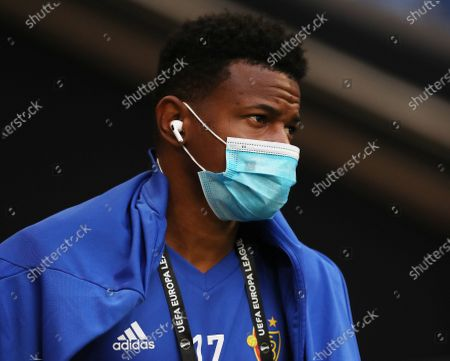 Basel player Eric Ramires arrives for the the training session of the team in Gelsenkirchen, Germany, 10 August 2020. Shakhtar Donetsk and Basel will meet in a UEFA Europa League quarter final on 11 August in Gelsenkirchen.