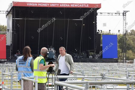 Editorial image of Virgin Money Unity Arena to be UK's first socially distanced music venue, Newcastle - 10 Aug 2020
