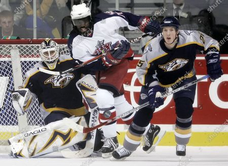 Editorial photo of Racial Injustice NHL Hockey, Nashville, United States - 12 Jan 2007