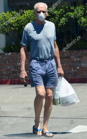 Editorial image of Exclusive - Fred Dryer out and about, Beverly Hills, Los Angeles, California, USA - 10 Aug 2020