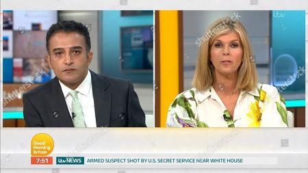 'Good Morning Britain' TV Show, London, UK - 11 Aug 2020