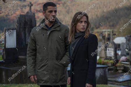 Nene as Jonan Etxaide and Marta Etura as Amaia Salazar
