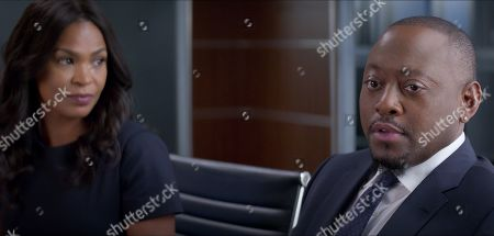 Nia Long as Ellie Warren and Omar Epps as David Hammond