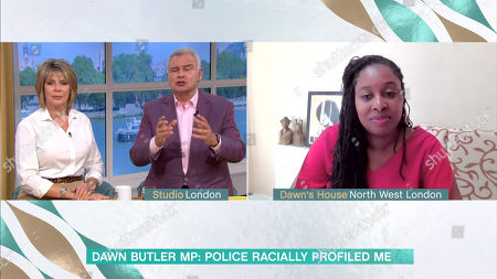 Editorial image of 'This Morning' TV Show, London, UK - 11 Aug 2020
