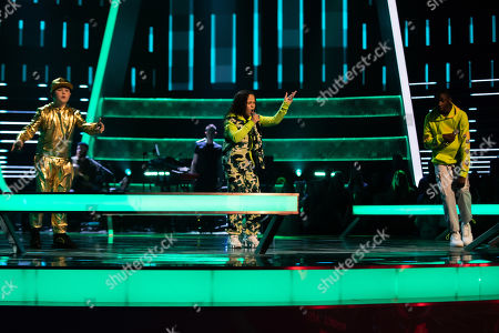 Editorial image of 'The Voice Kids UK' TV Show, Series 4, Episode 5, UK - 08 Aug 2020