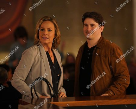 Melora Hardin as Patricia Bloom and Jason Ritter as Eric