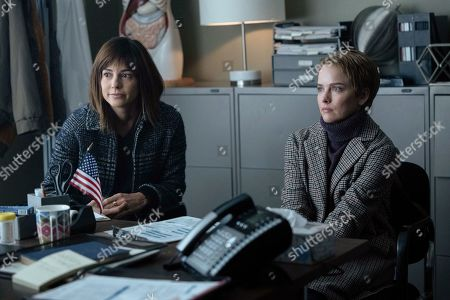 Stock Image of Stephanie Szostak as Delilah Dixon and Allison Miller as Maggie Bloom