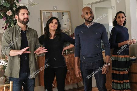 James Roday as Gary Mendez, Floriana Lima as Darcy, Romany Malco as Rome Howard and Christina Moses as Regina Howard