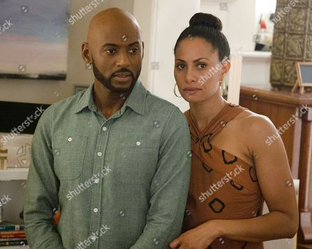 Stock Picture of Romany Malco as Rome Howard and Christina Moses as Regina Howard