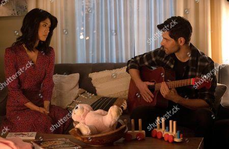 Grace Park as Katherine Saville and David Giuntoli as Eddie Saville