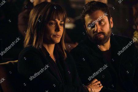 Stock Photo of Stephanie Szostak as Delilah Dixon and James Roday as Gary Mendez