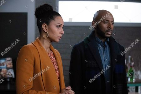 Christina Moses as Regina Howard and Romany Malco as Rome Howard