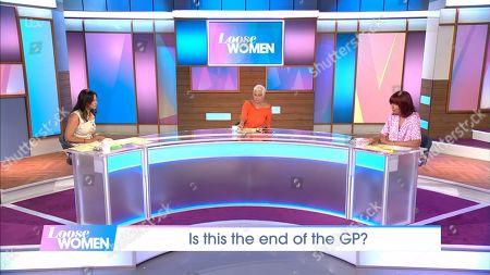 'Loose Women' TV Show, London, UK - 11 Aug 2020