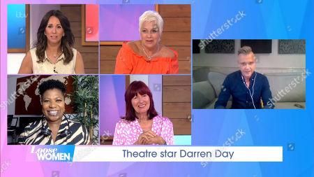 Andrea McLean, Denise Welch, Janet Street-Porter, Brenda Edwards, Darren Day