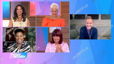 Stock Photo of Andrea McLean, Denise Welch, Janet Street-Porter, Brenda Edwards, Darren Day