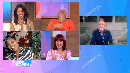 Editorial image of 'Loose Women' TV Show, London, UK - 11 Aug 2020