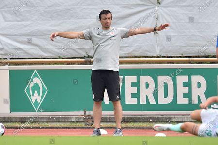 Editorial picture of SV Werder Bremen v Eintracht Braunschweig, Club Friendlies, Weser-Stadion Platz 11, Bremen, Germany - 09 Aug 2020