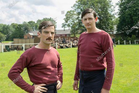 Kevin Guthrie as Fergus Suter and John Askew as Jack Hunter
