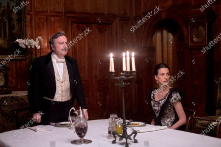 Stock Picture of Richard McCabe as Colonel Jackson and Melanie Gray as Mrs Jackson