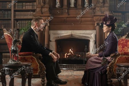 Stock Picture of Anthony Andrews as Lord Kinnaird and Charlotte Hope as Margaret Alma Kinnaird