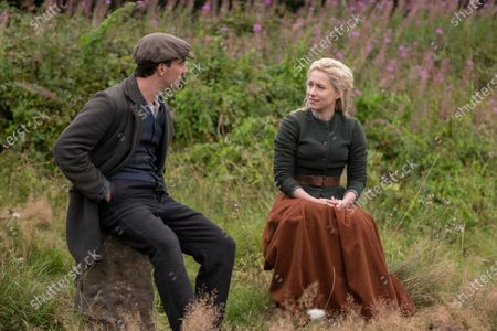 Kevin Guthrie as Fergus Suter and Niamh Walsh as Martha Almond