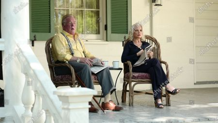 Nick Nolte as Judge Forsythe and Barbara Hershey as Byrd Forsythe