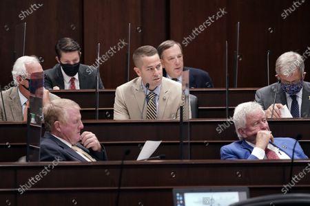 Editorial image of Tennessee Legislature, Nashville, United States - 11 Aug 2020