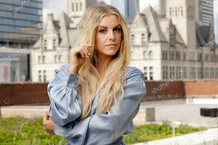 Country singer and guitarist Lindsay Ell poses, in Nashville, Tenn