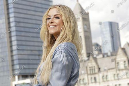 Country singer and guitarist Lindsay Ell poses, in Nashville, Tenn