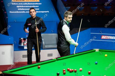 Ronnie O'Sullivan and Mark Selby