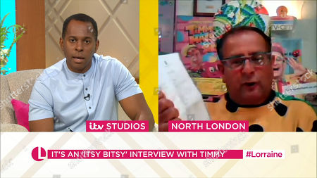 Andi Peters and Timmy Mallett
