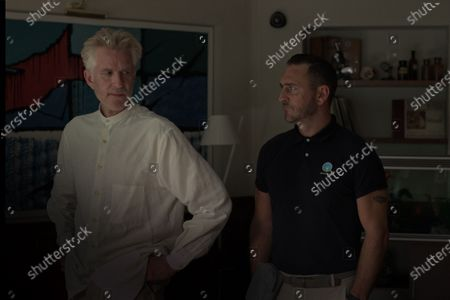 Matthew Modine as Dr. Fisher and Will Mellor as Redpath