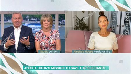 Eamonn Holmes, Ruth Langsford and Alesha Dixon