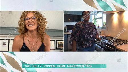 Kelly Hoppen and Tessa O'Conner
