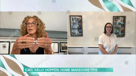 Kelly Hoppen and Joanne Leek