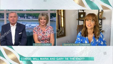 Editorial image of 'This Morning' TV Show, London, UK - 12 Aug 2020