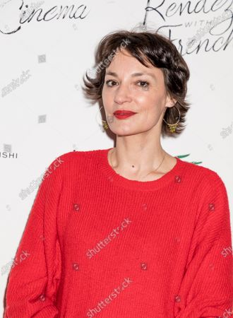 Actress Jeanne Balibar attends Renez-Vous with French Cinema Opening Night - Barbara US Premiere