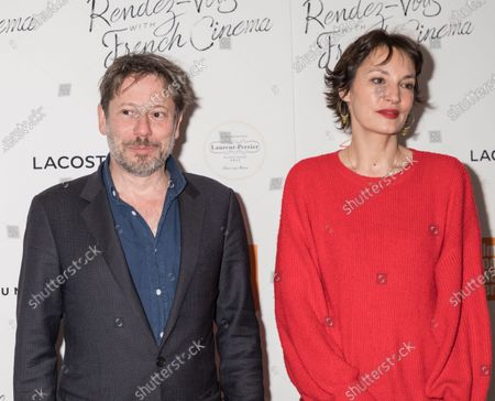 Mathieu Amalric and Jeanne Balibar attend Renez-Vous with French Cinema Opening Night - Barbara US Premiere