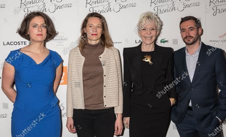 (L-R) Julie Roue, Marine Francen, Tonie Marshall, Xavier Legrand attend Renez-Vous with French Cinema Opening Night - Barbara US Premiere