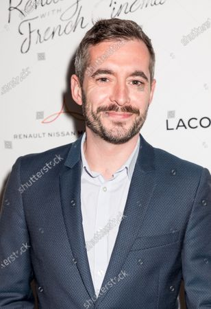Xavier Legrand attends Renez-Vous with French Cinema Opening Night - Barbara US Premiere