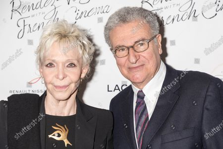 Tonie Marshall, Serge Toubiana attend Renez-Vous with French Cinema Opening Night - Barbara US Premiere