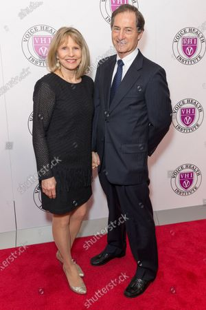 Stock Image of Donna Hanover, Edwin Oster attend the Raise Your Voice concert to benefit 15th anniversary Voice Health Institute fund at Alice Tully Hall