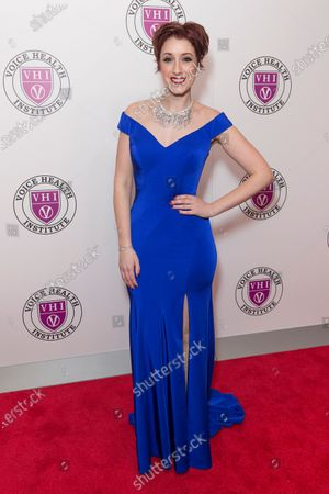 Connie Fisher attends the Raise Your Voice concert to benefit 15th anniversary Voice Health Institute fund at Alice Tully Hall